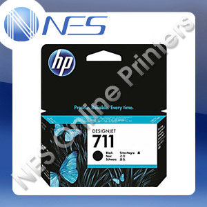 HP Genuine #711 BLACK Ink Cartridge for T120 T520 series [CZ129A] 38ml