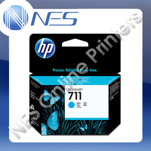 HP Genuine #711 CYAN Ink Cartridge for T120 T520 series [CZ130A] 29ml