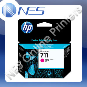 HP Genuine #711 MAGENTA Ink Cartridge for T120 T520 series [CZ131A] 29ml