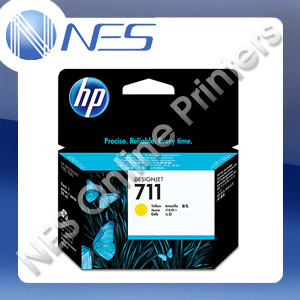 HP Genuine #711 YELLOW Ink Cartridge for T120 T520 series [CZ132A] 29ml