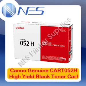 Canon Genuine CART052H High Yield BLACK Toner->LBP212dw/LBP215x/MF426dw/MF429x [9200 pages]