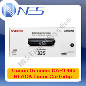 Canon Genuine CART335 BLACK Toner Cartridge for imageCLASS LBP841cdn/LBP843cx (7K) CART-335