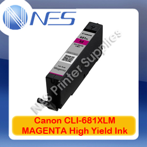 Canon Genuine CLI-681XL MAGENTA High Yield Ink Cartridge for TR7560/TR8560/TS6160/TS8160/TS9160