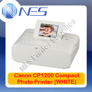 Canon SELPHY CP1200-WH Wireless Compact Photo Printer+WiFi Direct Print+AirPrint