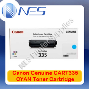 Canon Genuine CART335 CYAN Toner Cartridge for imageCLASS LBP841cdn/LBP843cx (7.4K) CART-335