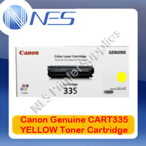 Canon Genuine CART335 YELLOW Toner Cartridge for imageCLASS LBP841cdn/LBP843cx (7.4K) CART-335