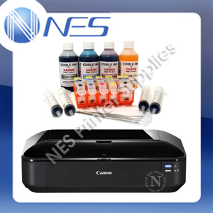 Canon PIXMA IX6860 A3+ Edible Cake Photo Printer+650/651 Edible Ink Kit+25x Wafer Paper