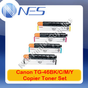 Canon Genuine Set of 4 TG46 GPR31 BK/C/M/Y Toner->iRC5240/iRC5235/iRC5035 *FREE SHIPPING*
