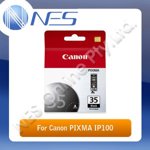 CANON Genuine PGI35BK BLACK Ink Cartridge for Canon PIXMA IP100 (PGI-35BK)