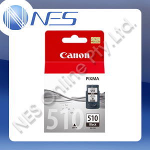 CANON Genuine PG510 BLACK Ink Cartridge for PIXMA MP230,MP240,MP250,MP260,MP270,MP280,MP480,MP490,MP495,MX320,MX330,MX340,MX350,MX360,MX410,MX420,IP2700 Printer (220 Pages Yield)