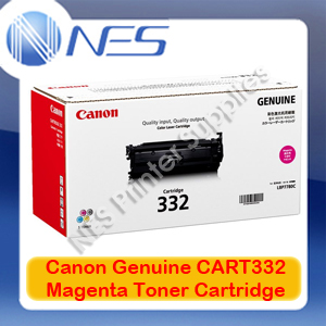 Canon Genuine Cart332M Magenta Standard Yield Toner Cartridge for LASER SHOT LBP7780Cx