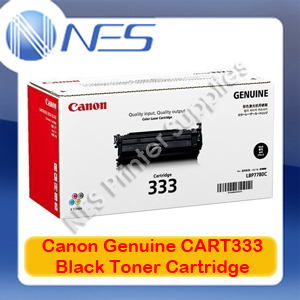 Canon Genuine Cart333 Black Toner Cartridge for LASER SHOT LBP8780x Cart333BK