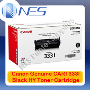 Canon Genuine Cart333I Black High Yield Toner Cartridge for LASER SHOT LBP8780x