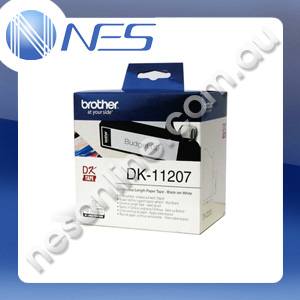 Brother DK11207 White CD/DVD Film Labels for QL-500/570/650TD/1050/1050N/1060N [DK-11207] ***FREE SHIPPING!***