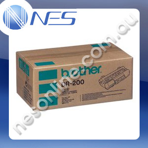 Brother Genuine DR-200 Drum for Brother FAX2660 FAX2750 FAX3750 FAX8000P FAX8200P HL730 HL730 Plus MFC4340 MFC4600 MFC6650MC MFC9500