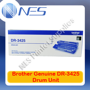 Brother Genuine DR-3425 Drum Unit for HL-L5100DN/L5200DW/L6200DW/L6400DW/L5755DW (50K)