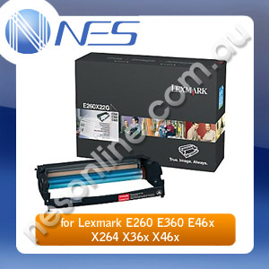 Lexmark Genuine E260X22G Photo conductor Kit (30K) for E260/E360/E460/X264DN/E36X/E46X/X34X/X46X