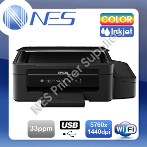 Epson EcoTank ET-2500 Wireless Refillable/CISS Ink Tank MFP Printer+Mobile Print Free Upgrade to ET-2710