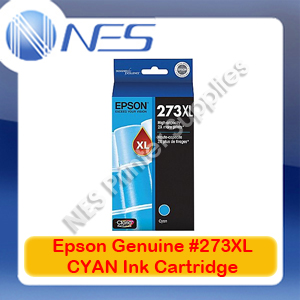 Epson Genuine #273XL CYAN High Yield Ink Cartridge for XP-820/XP-800/XP-720/XP-710/XP-700/XP-620 (T275292)