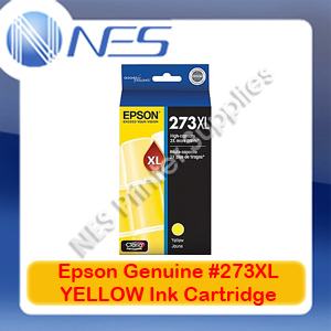 Epson Genuine #273XL YELLOW High Yield Ink Cartridge for XP-820/XP-800/XP-720/XP-710/XP-700/XP-620 (T275492)