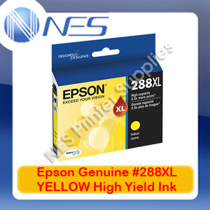 Epson Genuine 288XL YELLOW High Yield Ink Cartridge for XP-240/XP-340/XP-344/XP-440 (C13T306492)
