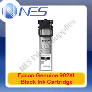Epson Genuine #902XL Black Ink Cartridge for WF-C5290/C5790 [C13T937192] 5K Pages
