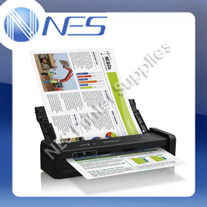 Epson WorkForce DS-360W A4 Wireless Portable Document Scanner+One Pass Duplex