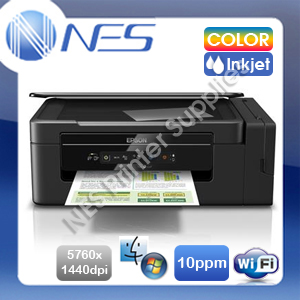 Epson EcoTank ET-2610 3-in-1 Wireless Refillable Ink Tank Printer+Mobile Print