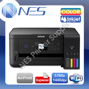 Epson EcoTank ET-2750 3in1 Wireless Refillable Ink Tank Printer+Duplex+AirPrint
