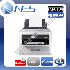 Epson WorkForce Pro WF-M5299 Wireless Mono Inkjet Printer+Duplexer+ADF C11CG07501