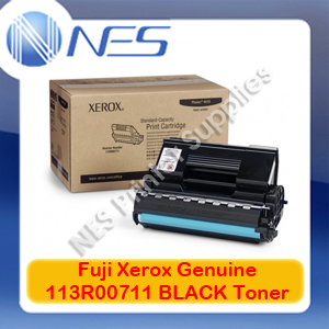 Fuji Xerox Genuine 113R00711 BLACK Toner Cartridge for Phaser 4510 (10K Pages)