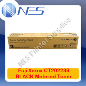Fuji Xerox Genuine CT202238 BLACK Metered Toner Cartridge for DocuCentre SC2020/DCSC2020NW (9K)