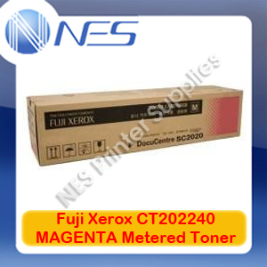 Fuji Xerox Genuine CT202240 MAGENTA Metered Toner for DocuCentre SC2020/DC-SC2020NW (3.5K)