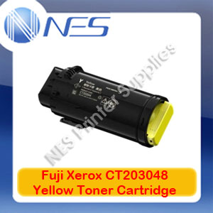 Fuji Xerox Genuine CT203048 Yellow Toner Cartridge for CP505D 11k pages
