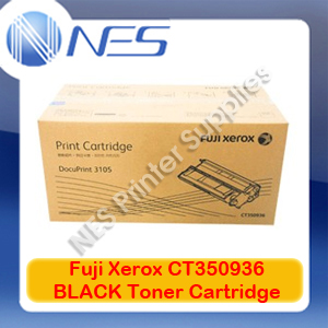Fuji Xerox Genuine CT350936 BLACK Toner Cartridge for Xerox DocuPrint 3105 (15K)