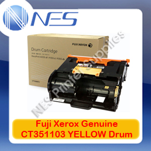 Fuji Xerox Genuine CT351103 YELLOW Drum Unit for DocuPrint DP-CP315dw/DPCM315z (50K)