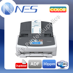 Fujitsu ScanSnap iX1500 Document Wireless Duplex Scanner ADF 30PPM 600DPI