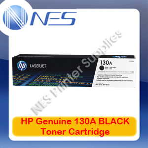 HP #130A Genuine BLACK Toner Cartridge for Colorjet MFP M153/M176N/M177FW 1.3K [P/N:CF350A]