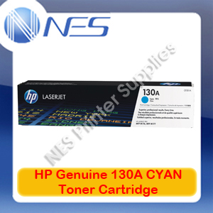 HP #130A Genuine CYAN Toner Cartridge for Colorjet MFP M153/M176N/M177FW 1K [P/N:CF351A]