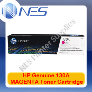 HP #130A Genuine MAGENTA Toner Cartridge for Colorjet MFP M153/M176N/M177FW 1K [P/N:CF353A]