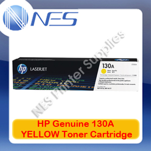 HP #130A Genuine YELLOW Toner Cartridge for Colorjet MFP M153/M176N/M177FW 1K [P/N:CF352A]