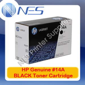 HP Genuine #14A BLACK Toner Cartridge for M712/M712dn/M725/M725xh [CF214A] 10K
