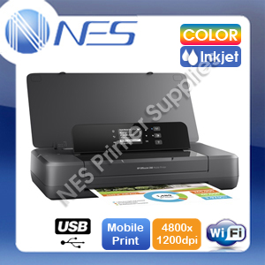 HP OfficeJet 200 Wireless A4 Portable Mobile Printer+ePrint w/62 Inks (CZ993A)