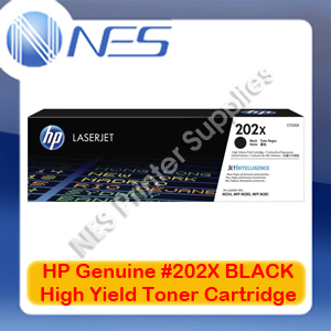 HP Genuine #202X BLACK High Yield Toner Cartridge for M254dw/M254nw/M280nw [CF500X]