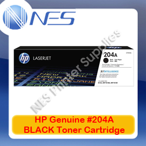HP Genuine #204A BLACK Toner Cartridge for M154a/M154nw/M180n/M181fw [CF510A]