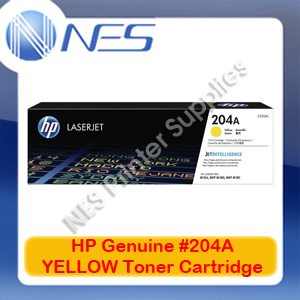 HP Genuine #204A YELLOW Toner Cartridge for M154a/M154nw/M180n/M181fw [CF512A]