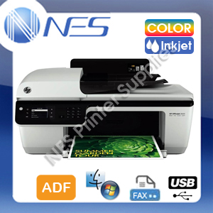 HP OfficeJet 2620 All-in-One USB Inkjet MFP Printer+FAX+ADF w/ 61 Inks (D4H21A)