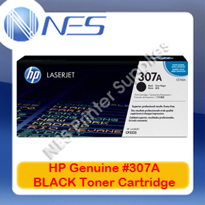HP Genuine #307A BLACK Toner Cartridge for Color LaserJet CP5220/CP5221dn/CP5223dn/CP5223n/CP5225dn [CE740A] 7K