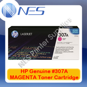 HP Genuine #307A MAGENTA Toner Cartridge for Color LaserJet CP5220/CP5221dn/CP5223dn/CP5223n/CP5225dn [CE743A] 7.3K
