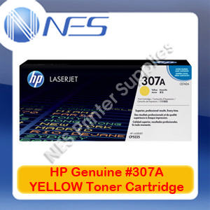 HP Genuine #307A YELLOW Toner Cartridge for Color LaserJet CP5220/CP5221dn/CP5223dn/CP5223n/CP5225dn [CE742A] 7.3K
